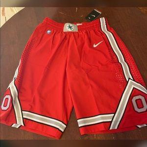 Nike Dri-Fit Ohio State Buckeyes Basketball Shorts